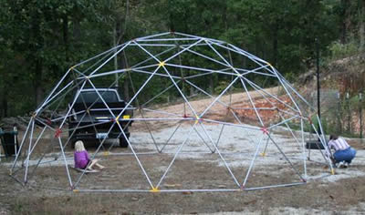 & Geodesic Dome Tent Construction Instructions